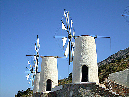 Windmills_Crete